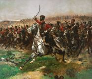 "Edward Detail ""the charge of the hussars at Friedland"""