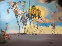 "Salvador Dali ""The Temptation Of St. Anthony"""