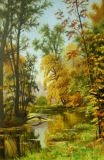 """Autumn in Pavlovsk Park"" by I. Shishkin"