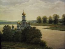 The Cathedral over the river