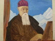 Portrait Of N. To.Roerich