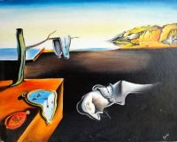 The persistence of memory.Salvador Dali