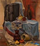Still life with accordion