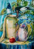 """Still life with magpie"""