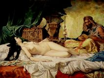 The odalisque (Fortuny copy)