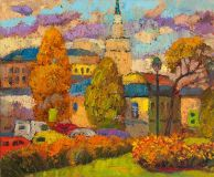 Old Moscow, autumn