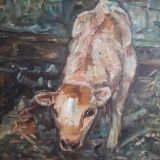painting calf