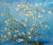 A copy of the van Gogh blossoming almond Branch