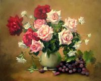 Roses and grapes