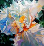 Iris White, paintings, oil