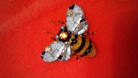 Author's brooch BEE