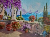 Embankment in flowers and sea views-3