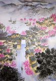 Copy of the painting of Sakura blossoms