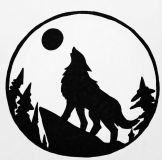 The wolf and the moon