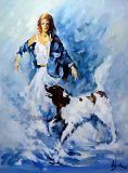 """The lady with the dog"""