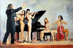"""Naked orchestra"""