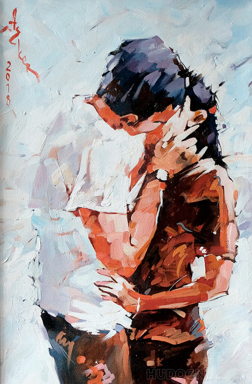 """The kiss"""