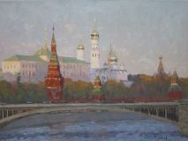 Moscow. View of the Kremlin