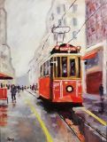 The Istanbul tram