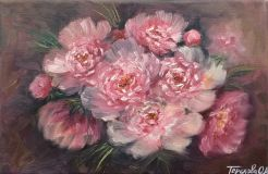 The first peonies
