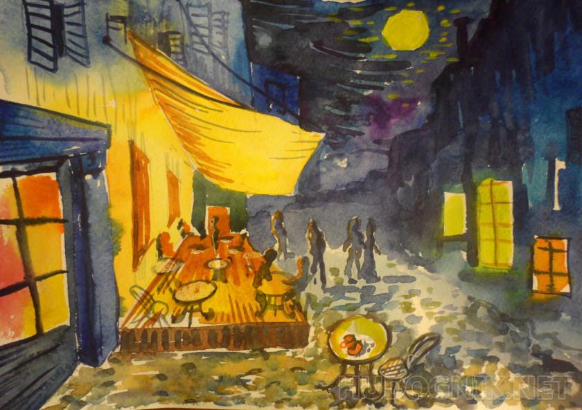 La Noche Calle Van Gogh Terraza