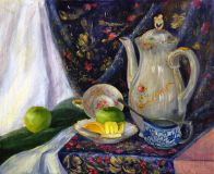 Still life with jug