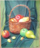 """Still life with a basket"""