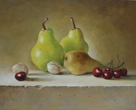 still life Pears fruit