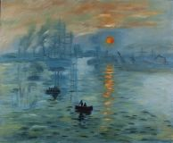 A Copy Of Claude Monet's Impression