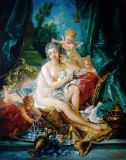 The toilet of Venus (from the painting by F. Boucher)