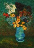 Copy of a van Gogh Bouquet in a blue vase