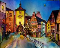Rothenburg is the city of eternal Christmas