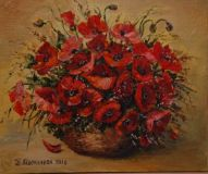 """Poppies in the basket"""