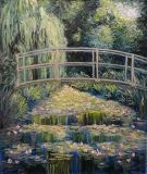A copy of Monet's the Japanese bridge