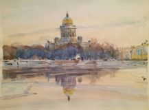 """Autumn St. Isaac's Cathedral"""
