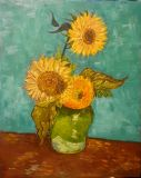 POSOLOGY. Free copy of the painting of van Gogh