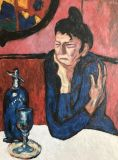 The absinthe drinker (ed. P. Picasso)