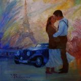 Paris kiss,
