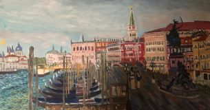 Venice. Morning Panorama.