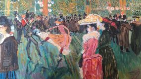 Dance in Molen - Rusch. Variation on a theme by Henri de Toulouse-Lautrec