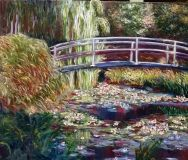 Copy Monet Japanise bridge