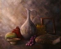 """Still life with jug"""