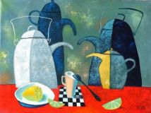 Still life with kettle