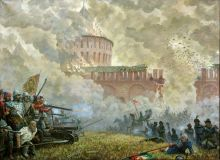 Breakthrough. ( Defense of Smolensk from the Polish invaders in 1609 -1611.)
